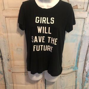 American eagle Girls will save the future shirt Sm
